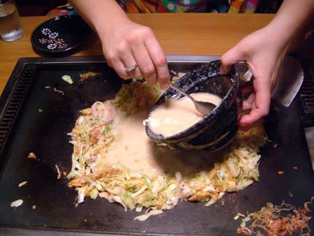 okonomiyaki monja