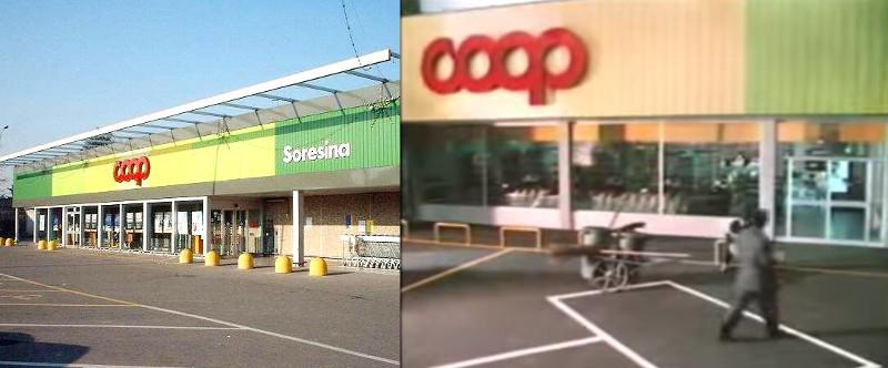 Questo punto vendita COOP esiste ancora, ma ovviamente è cambiato negli anni... sono passati 30 anni esatti!