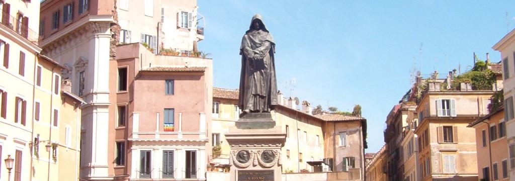 Giordano Bruno può ben guardare fiero verso il Vaticano.