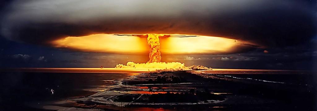 Se rimanete là dentro per qualche ora, tanto vale vedere dal vivo un'esplosione nucleare!