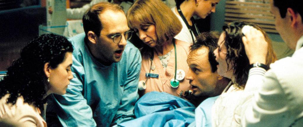 Questa dovrebbe essere una delle scene più delicate della prima stagione: il primo errore di Mark Green.