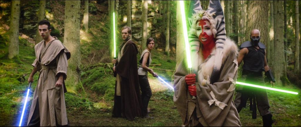 Così tanti Jedi in un posto solo.