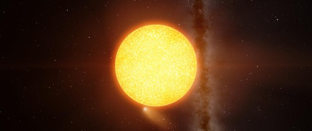 La stella WOLF 1061.