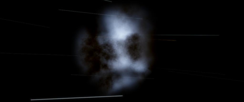 L'ingombro della galassia come nebulosa è calcolato con precisione.