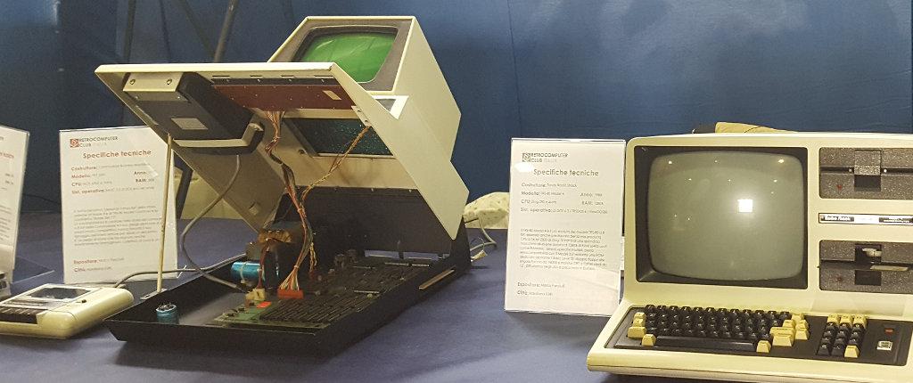 E sotto il vestito... una tecnologia simile agli impianti hi-fi degli anni '80-.