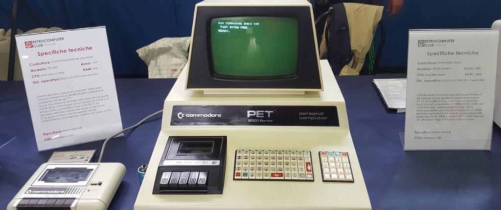 Che emozione! Il primo CBM (e lo chiamavano ancora PET!).